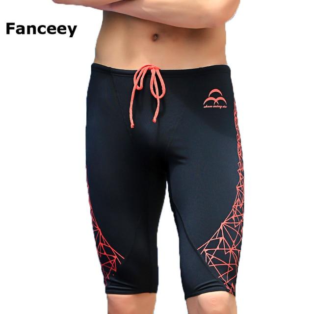 70f8f7743 Venta barata Fanceey gay nuevo baño de hombres la piel tiburón