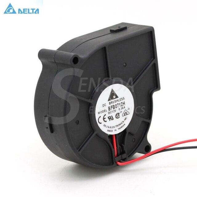 Miễn phí Vận Chuyển Delta BFB0712H 7530 DC 12 V 0.36A chiếu quạt quạt ly tâm quạt quạt làm mát