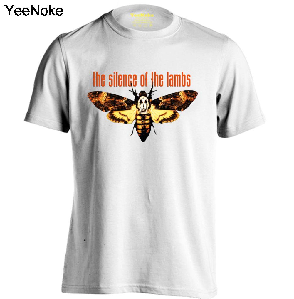 O silêncio dos cordeiros Homens   Das Mulheres Personalizado Camiseta de  Banda de Rock Camisetas c49a39b807dd2