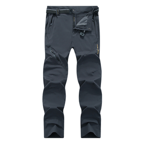 Image 4 - Mountainskin 8XL Mens Summer Quick Dry Softshell Pants Outdoor Elastic Camping Hiking Trekking Fishing Climbing Trousers MA138