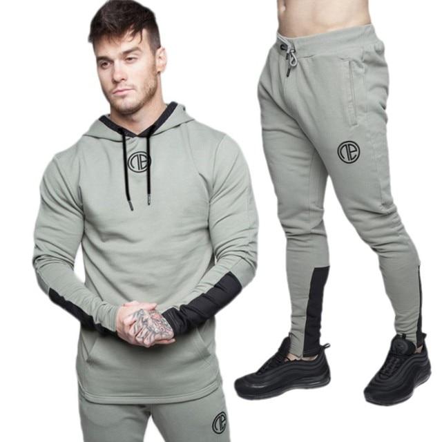 Hombres moda manga larga camuflaje sudaderas con capucha