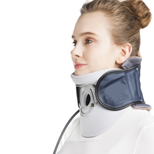 цены Cervical Traction Collar Inflatable Neck Health Care Correction Massage Device Air Wave Hanging Cervical Stretched Brace