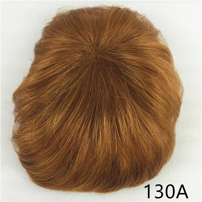 Сильная красота парик синтетические волосы парик выпадение волос топ кусок парики 36 цветов на выбор - Цвет: Красно-коричневый цвет