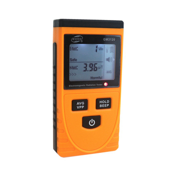 LCD Radiation Dosimeter Meter Handheld Digital Electromagnetic Field Radiation Tester Detector Counter for Magnetic Field GM3120|computer lab|computer data transfer cable|computer laptops on sale -