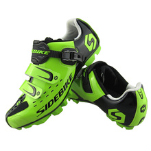 2017 Hot Sale Sidebike MTB Cycling Shoes Mountain Bike Shoes Men's Breathable Cycling Bike Bicycle Athletic Shoes Black Sneaker