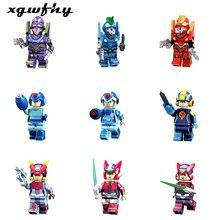 LgoINGly Neon Genesis Evangelion Action Figure Anime EVA Cartoon Machine Armor EVA-00 Building Blocks Toys for Children JM224
