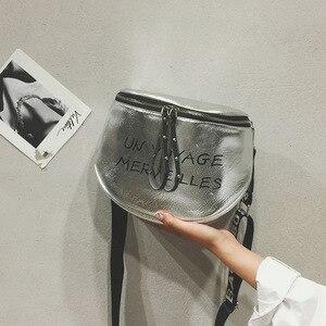 Image 4 - 11,11 bolsos de lujo Bolsos De Mujer bolsos de diseño para mujer bolsos de mensajero con correa de letra bolso de hombro para mujer W604