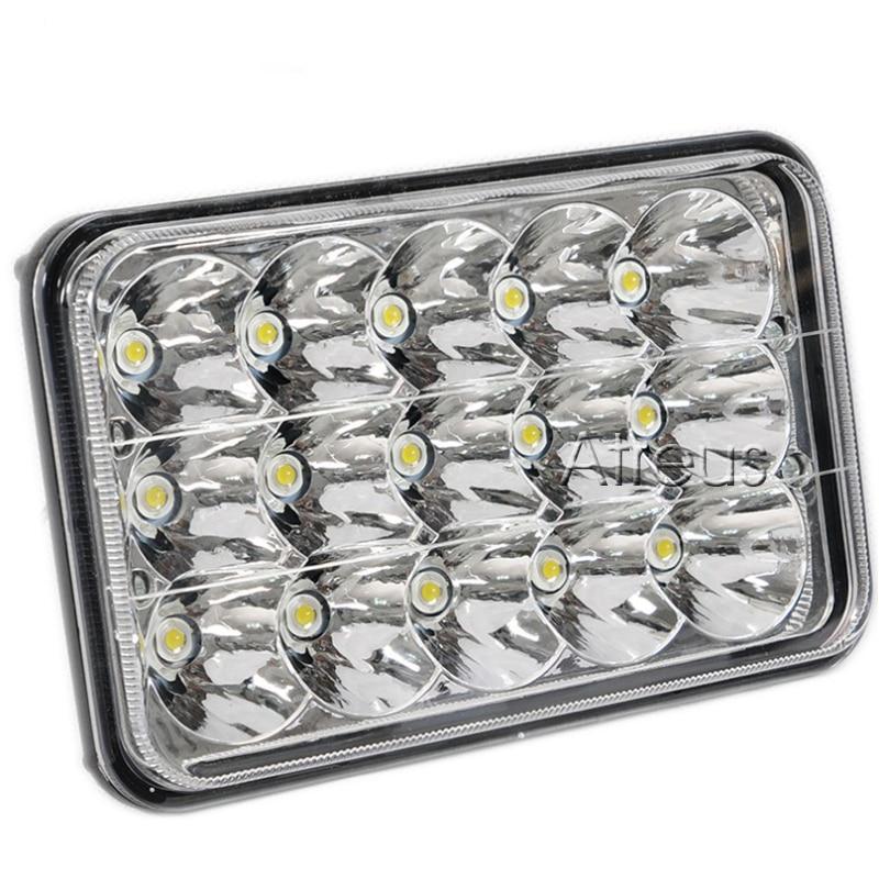 Atreus 7-inčni 45W kvadratni LED radno svjetlo 15x3W 12V 24V mjesto - Svjetla automobila - Foto 3