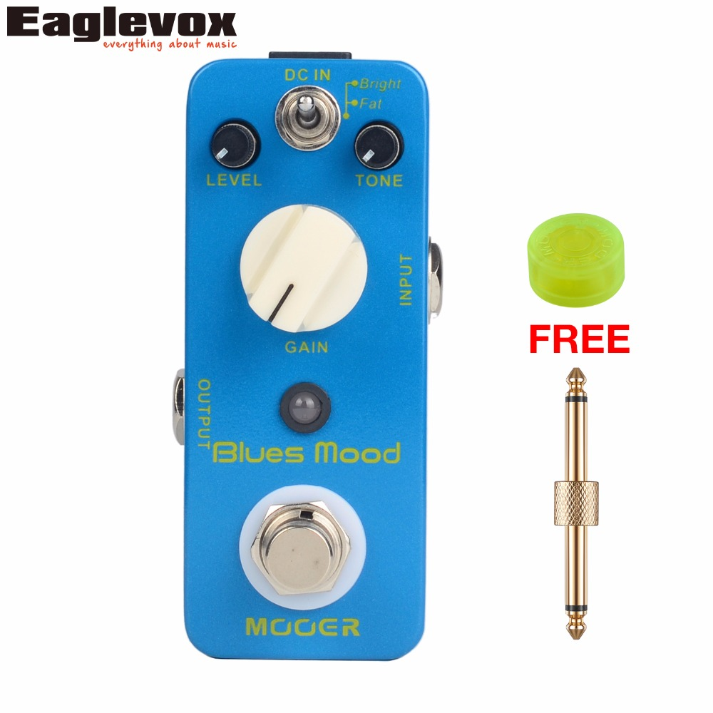 Mooer Blues Mood Blues Drive Pedal Electric Guitar Effects Pedal True Bypass with Free Connector and Footswitch Topper MBD2 стоимость