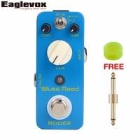 Mooer Blues Mood Blues Drive Pedal Electirc Guitar Effects Pedal True Bypass
