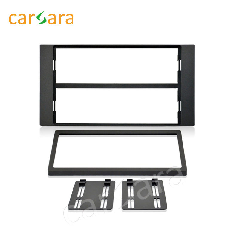 2 Din Car Fascia Panel Audio Panel Frame Car Dash Frame Kitr For Ford Focus 2005 2006 2007 2008 2 din carro fascia car fascia panel audio panel frame car dash kit for mitsubishi outlander 2007 2013 free shipping