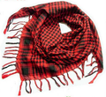 Square Scarves Colored Wrap Tassel Circle Scarf Cashmere Pashmina Scarf Black Plaid England Women Red Green White Yellow 4 Color
