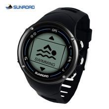 Смарт часы sunroad мужские спортивные с gps и Пульсометром