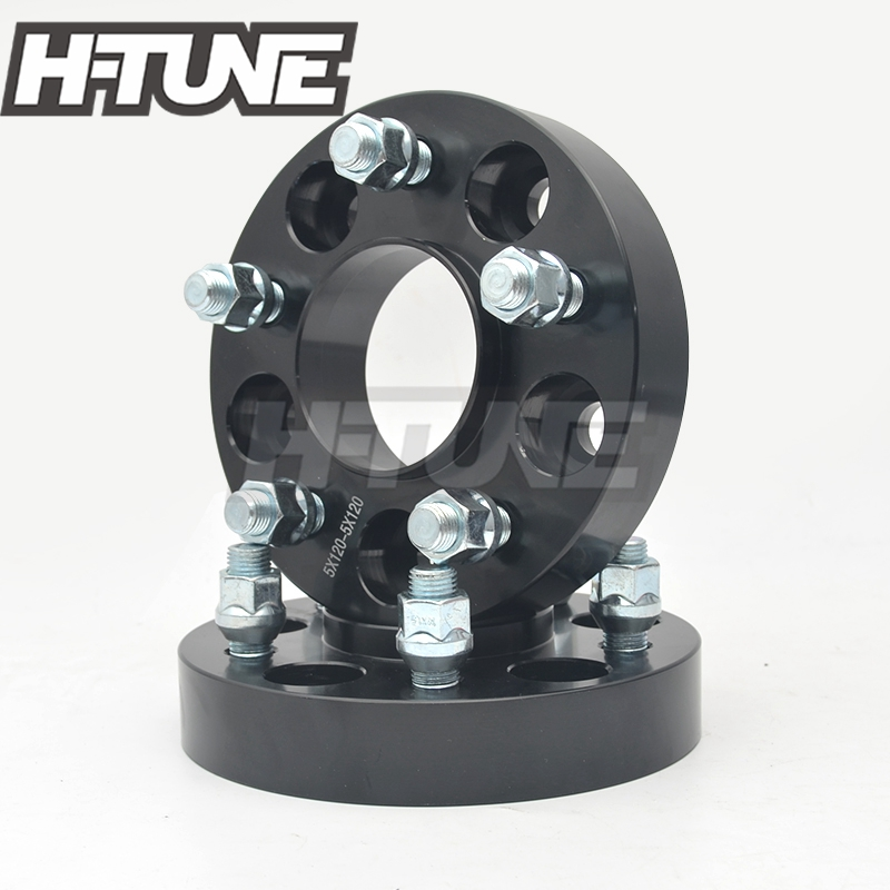 H-TUNE 4PCS Forged Aluminum Hub Centric 5x120 72.6CB 30mm Wheel Spacers Adapters for F10 F30 F80 F82 F87 M2 M3 M4 4pcs new billet 5 lug 12 1 5 studs wheel spacers adapters for jeep wrangler