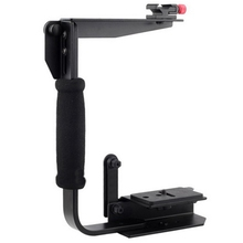 U-образный A900 быстрый флип Speedlite держатель для кронштейна для камеры 120/135 Canon Nikon Pentax Olympus рукоятка держатель для рук