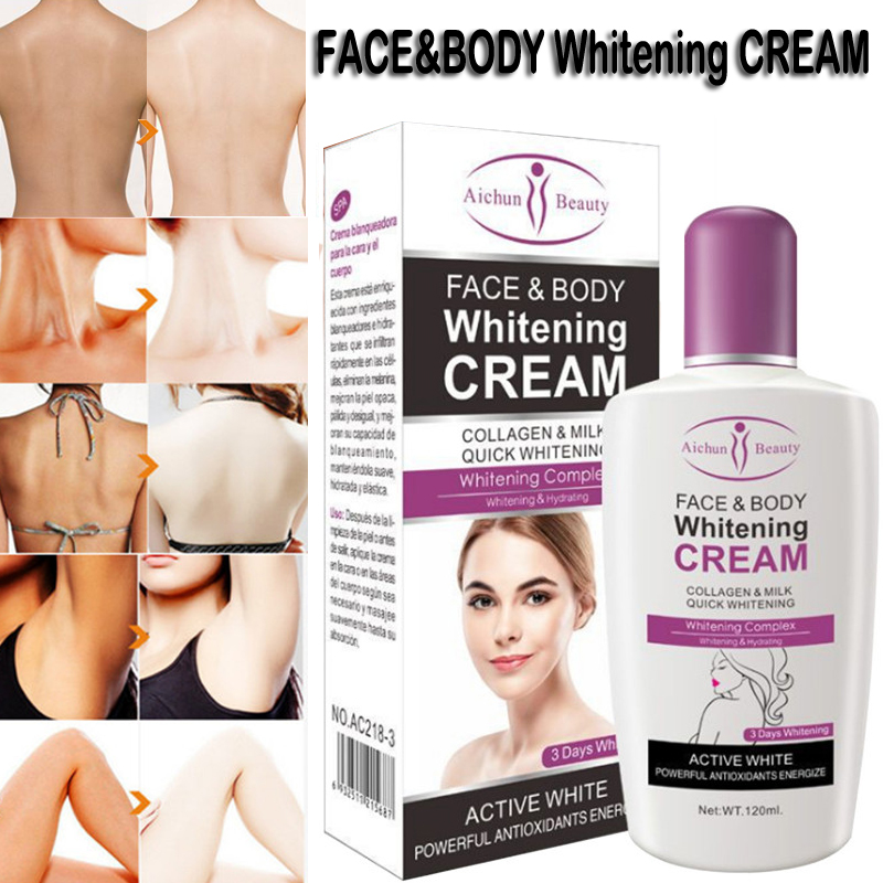 Beauty Summer Beach Body Face Whitening Cream