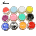 12PCS/Set New Nail Art Design 12 Colors UV LED Soak Off Paint Color Gel Ink UV Gel For Nails M02565