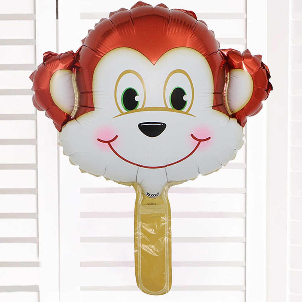 2019 מיני בעלי החיים ראש בלוני מסיבת יום הולדת קישוטי בלון חג חתונת בעלי החיים קריקטורה ילד מתנת תינוק צעצוע