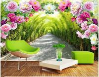 3d duvar kağıdı özel duvar dokunmamış 3d odası duvar kağıdı Çiçek kapı çiçek galeri arka plan duvar fotoğraf 3d duvar resimleri duvar kağıdı