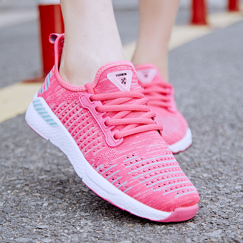 2018 Feminino New Air Mesh Light Sneakers Women big Size 36-48 Outdoor Summer Breathable Flat Shoes Unisex Sport gym shoes breathable women hemp summer flat shoes eu 35 40 new arrival fashion outdoor style light