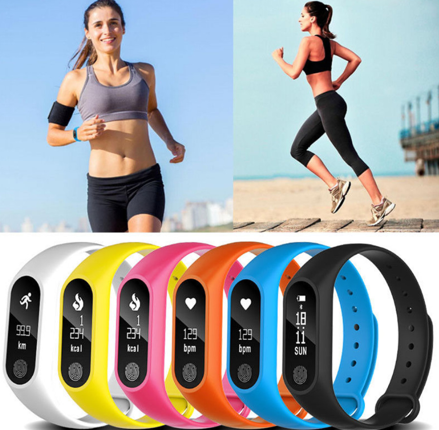 Women&Mens Waterproof IP67 M2 Watch Fitness Heart Rate Monitor Blood Pressure Pedometer Bluetooth Smart Wristband Android iOSWomen&Mens Waterproof IP67 M2 Watch Fitness Heart Rate Monitor Blood Pressure Pedometer Bluetooth Smart Wristband Android iOS