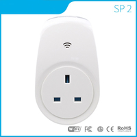 SP2 UK US AU Standard Wifi Plug Socket Smart Home Automation Wireless Remote Control For ISO