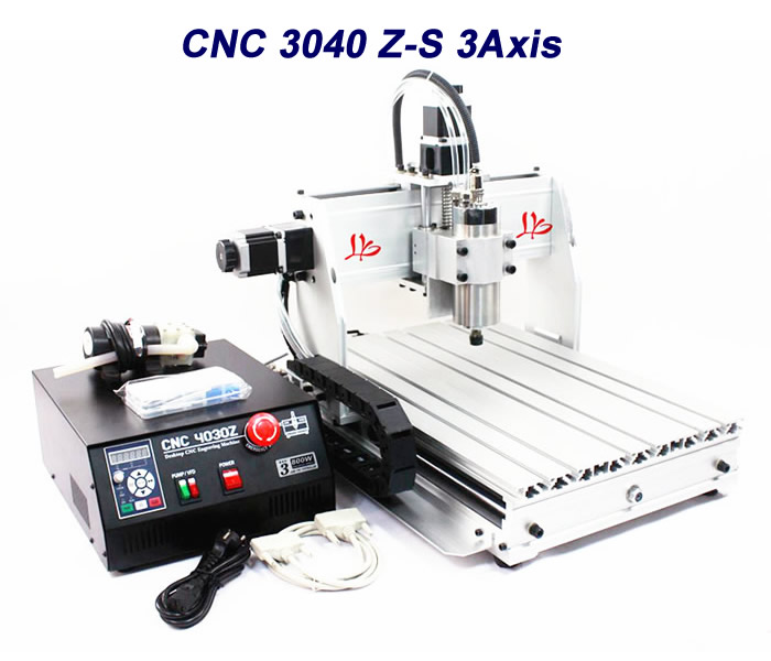 800W MACH3 software diy 3040Z-S cnc machine,working area 410*280*75,3 axis wood router cnc routers for wood engraving mach 3 control system usb 600x900x100 mm working area