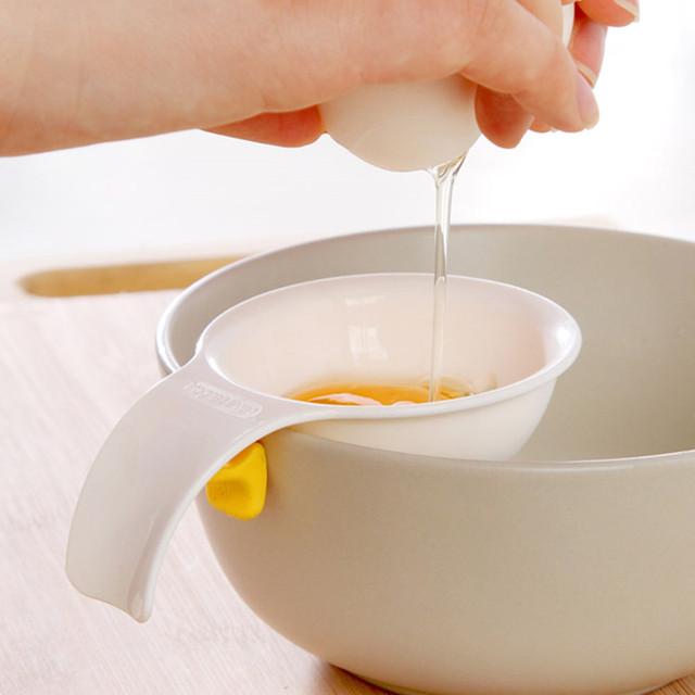 Mini Egg Yolk White Separator With Silicone Holder