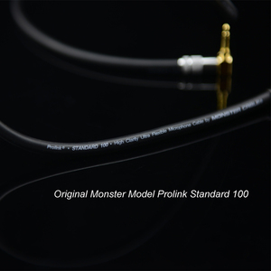 Image 4 - MonsterProlink Standard 100 Audio Cable Stereo 3.5mm to 2 RCA right angle Y cable for MP3 CD DVD PC TV Audiophile cable