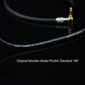 Image 4 - MonsterProlink Standard di 100 Cavo Audio Stereo da 3.5mm a 2 RCA ad angolo retto cavo a Y per MP3 CD DVD PC TV Audiophile cavo