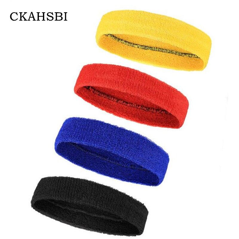 CKAHSBI Summer Bicycle Bandana GYM Bike Sweat Headband Gentle High Elasticity Sweat Sport Cycling Headwears Women Men 4 Colors