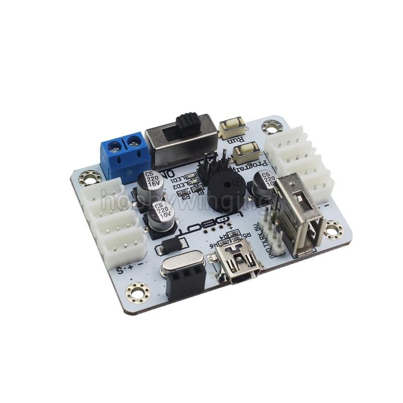 все цены на  Robot Bus Servo Controller intelligent serial communication digital servo  control board  support handle  bluetooth / robotic  онлайн