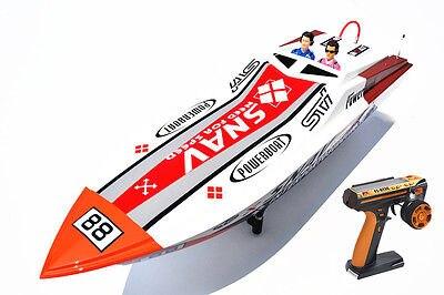 G26A2 ARTR-RC 26CC Engine with Clutch Fiber Glass Gasoline RC Boat W/Radio System rc gas boat clutch kit fits zenoah g260pum 290pum crrc pro petrol marine engine