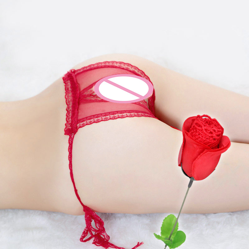 Male Underwear Women 39 s Pants Man for Sex Open Crotch Chastity Crotchless Thong Sissy Girls Open Mens Sexy Lingerie Open rose in Panties from Novelty amp Special Use