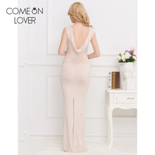 RE80296 Hot sexy side open backless women dress shimmering sequins pleated maxi dress sexy summer dress long vestidos de fiesta