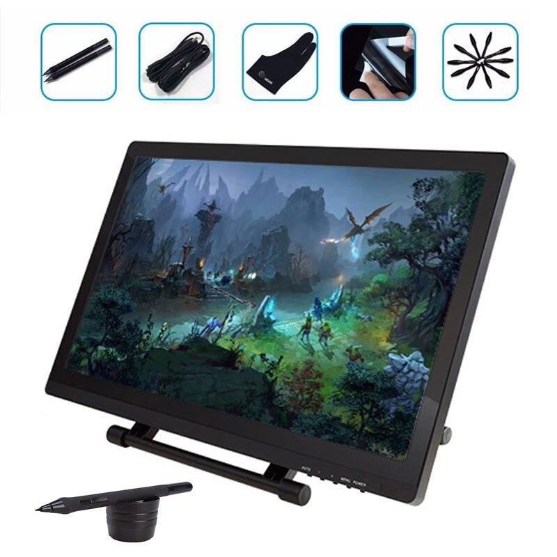 Prix pour Ugee ug-2150 ug2150 21.5 pouce ugee Graphique Tablet Moniteur HD Graphique Stylo LED IPS Numérique Dessin Stylo Affichage Dessin Moniteur