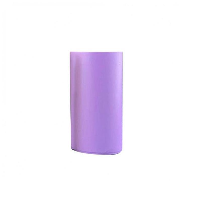 Самоклеющиеся термопечатные бумажные наклейки 57x30 мм термопечатные бумажные наклейки фотопринтер - Цвет: D