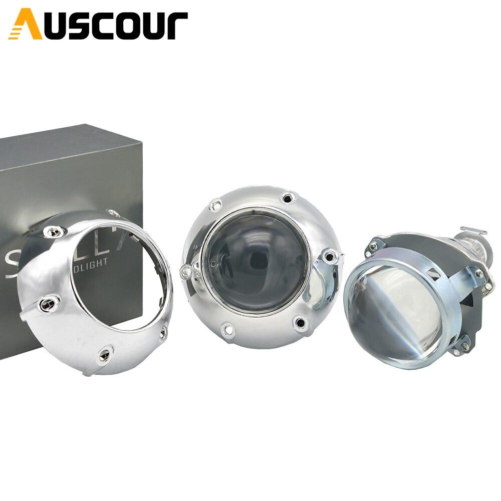 3.0 polegada bi xenon hid lente do projetor carro apto para h1 h4 h7 farol do carro lâmpada do bulbo conjunto carro estilo xenon kit modificar