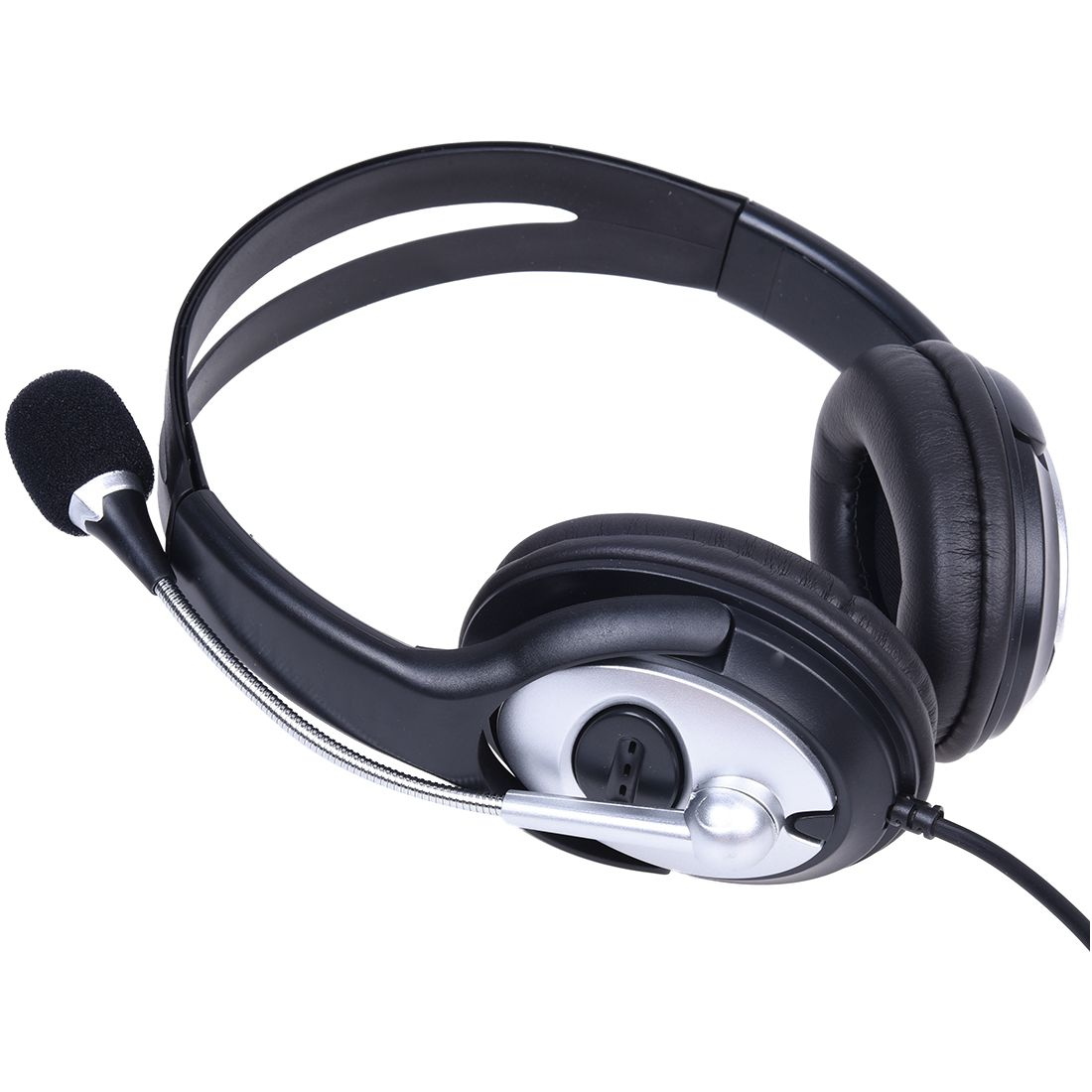 HOT-USB Stereo Headphone Earphone with MIC for Gaming Console Surround Sound PC Headset