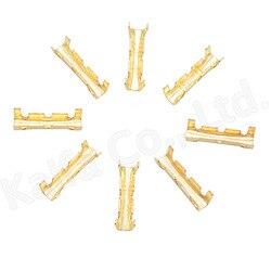 U-образная клемма 453, 100 шт./лот, коннекторы с холодными вставками, клеммы с мелкими зубцами, 0,5-1,5 мм2