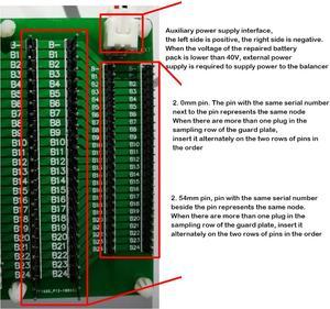 Image 5 - Pour JK équilibreur actif réparation automatique de tension différentielle de batterie transfert dégaliseur Bluetooth XH2.54mm tour à adaptateur 2.0mm