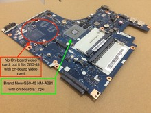 Free Shipping Best NEW NM-A281 Mainboard For Lenovo G50-45 Motherboard with AMD E1 cpu