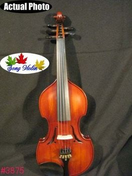 Baroque style SONG Brand concert 5 strings 44 violin#3875