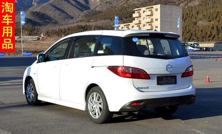 Спойлер Mazda 5.