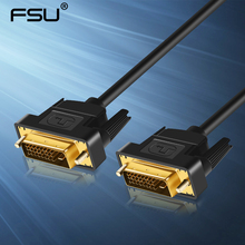 High speed DVI Cable DVI to DVI-D 24+1 Gold plated Male to Male 1M 1.8M 2M 3M for  LCD DVD HDTV XBOX Projector free shipping