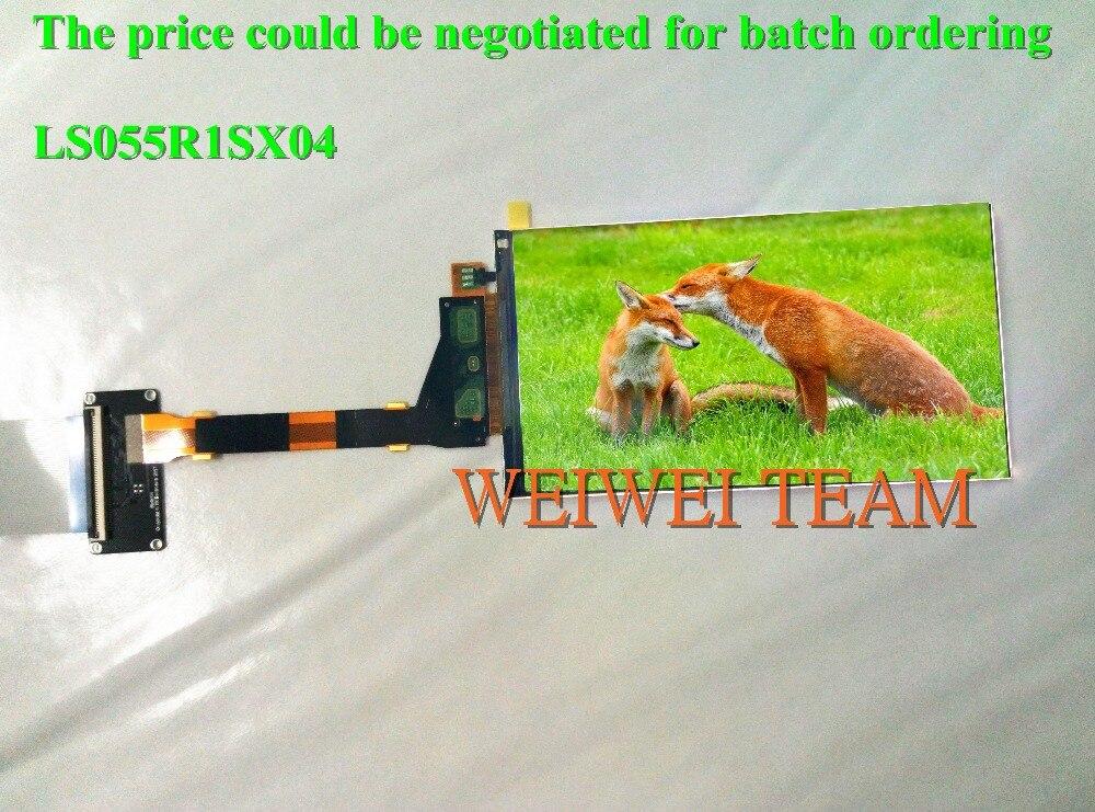 O wysokiej rozdzielczości 5.5 cal 2k 2560*1440*1440P IPS panel TFT LCD ekran LS055R1SX04 dla Wanhao powielacz 7 3D drukarki