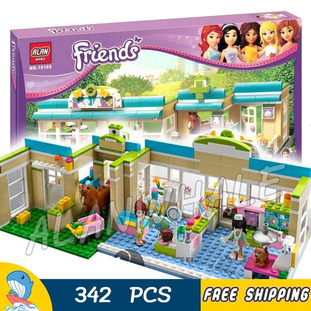 342pcs Friends Series Heartlake City Vet Mia Sophie 10169 Model