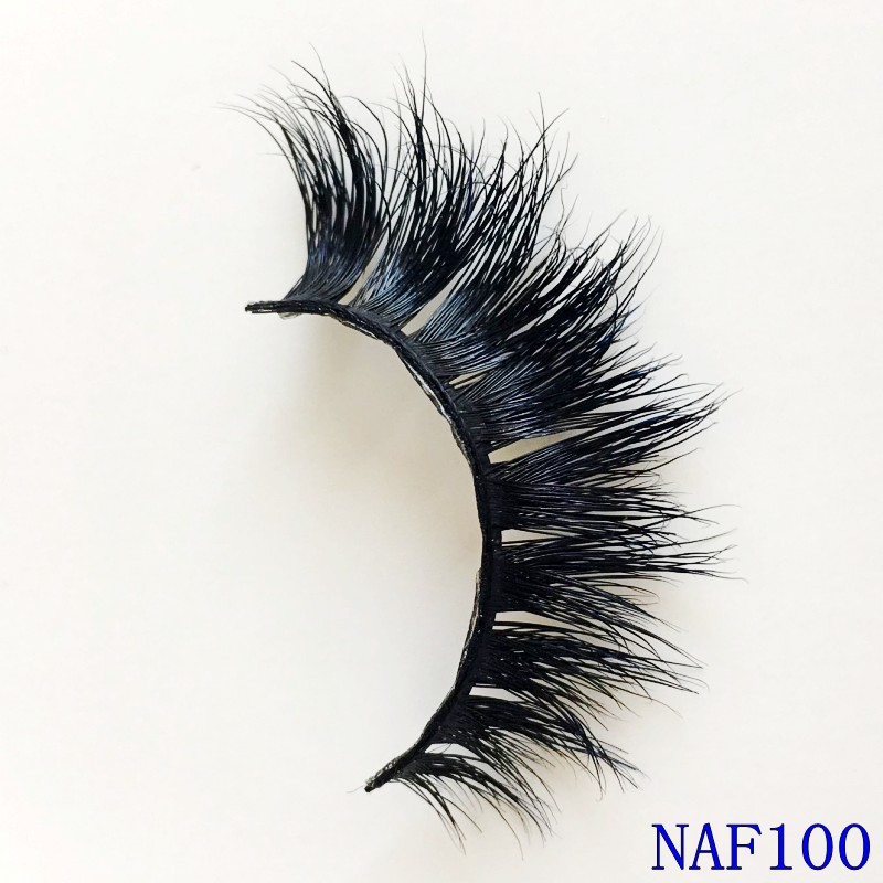 Beauty Essentials False Eyelashes 100% Real Mink Fur False Eyelash 3d Strip Mink Lashes Free Shipping