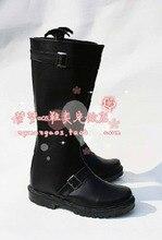 Hot Sell Custom Made Gintama Sakata Gintoki Cosplay Shoes High Heel For Cosplay Player Halloween