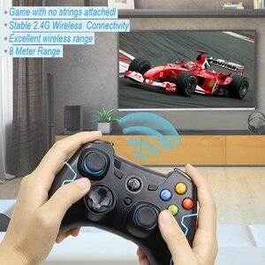 Image 2 - Беспроводной геймпад EasySMX, игровой джойстик, контроллер, совместим с ПК, Windows, PS3, ТВ приставкой, смартфоном на базе Android